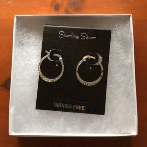 Jewelry - Sterling Silver Hoop Earrings ~ S925
